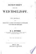 Denkschrift über den Weichselzopf. Ein Beitrag zur Begründung einer rationellen Pathologie und Therapie desselben ... Neuer Abdruck