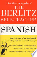The Berlitz Self teacher  Spanish