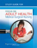 Study Guide For Focus On Adult Health