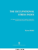 The Occupational Stress Index book