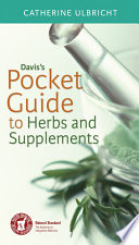 Davis S Pocket Guide To Herbs And Supplements