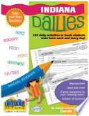 Indiana Dailies  180 Daily Activities for Kids