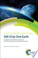 Still Only One Earth