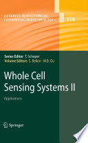 Whole Cell Sensing System Ii book