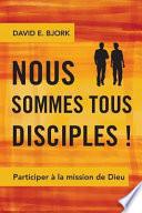 illustration du livre Nous sommes tous disciples !