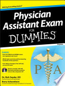 Physician Assistant Exam For Dummies  with CD