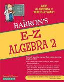 Barron s E Z Algebra 2