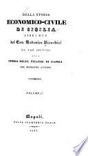 Della storia economico-civile di Sicilia libri due