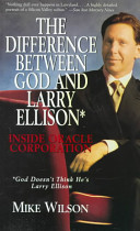 cover img of Difference Between God And Larry Ellison*, The *god Doesn't Think He's Larry E