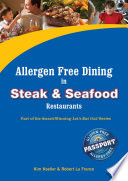 Allergen Free Dining in Steak and Seafood Restaurants