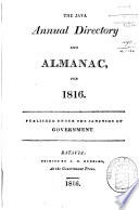 The Java Annual Directory and Almanac for