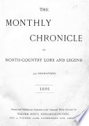 Monthly Chronicle of North country Lore and Legend Book PDF