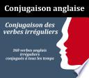Conjugaison des verbes anglais irreguliers