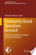 Community Based Operations Research book