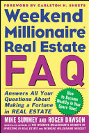 Weekend Millionaire Real Estate FAQ Think Act And Invest Like A