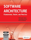 SOFTWARE ARCHITECTURE  FOUNDATIONS  THEORY  AND PRACTICE