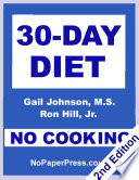 30 Day No Cooking Diet