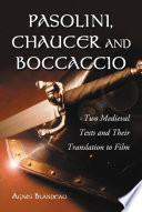 Pasolini, Chaucer and Boccaccio