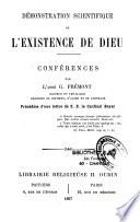 Démonstration scientifique de l'existence de Dieu