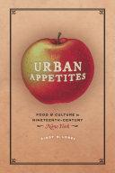 Urban Appetites Book
