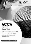 ACCA Performance Management: Study Text