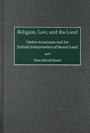 Religion  Law  and the Land