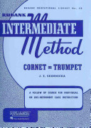 Rubank Intermediate Method   Cornet Or Trumpet