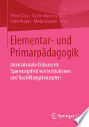 Elementar- und Primarpädagogik