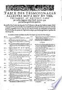 La Bible qui est toute la sainte escriture du vieil & [et] du nouveau testament