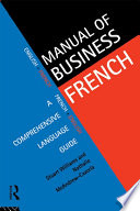 Manual of Business French