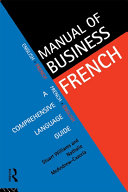 download ebook manual of business french pdf epub