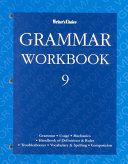 Grammar Workbook 9