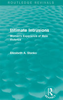 Intimate Intrusions (Routledge Revivals) Book