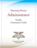 Nursing Home Administrator Facility Orientation Guide