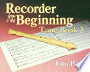 Recorder Tunes From The Beginning  Tune Book 3