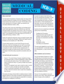 Medical Coding Icd 9 Speedy Study Guides