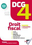 Dcg 4 Droit Fiscal Manuel Et Applications Mill Sime 2020 2021