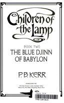 Children Of The Lamp Blue Djinn Of Babylon Book Two