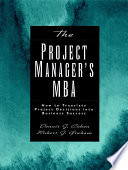 The Project Manager s MBA