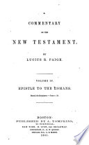 A Commentary on the New Testament Book PDF