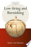 Low firing and Burnishing