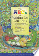 The Abc S Of Writing For Children