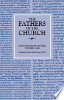 Letters  Volume 1  1   82   The Fathers of the Church  Volume 12