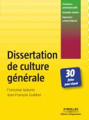 Dissertation de culture g  n  rale