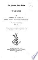 Walden Book PDF