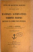 Cours de machines marines