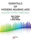 Essentials of Modern Hearing Aids Book