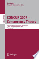 CONCUR 2007   Concurrency Theory