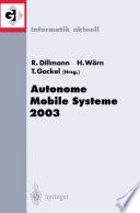 Autonome Mobile Systeme 2003