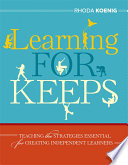 Learning for Keeps